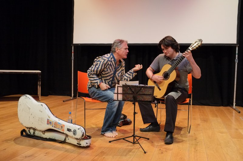 Winch Guitar Fest Benjamin Verdery Masterclass 112 Joe Low